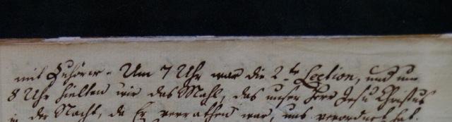 ILL. 1b2 Single Sisters' Diary, April 16, 1778, vol. 3, 23. Courtesy Moravian Archives at Bethlehem, Pa.