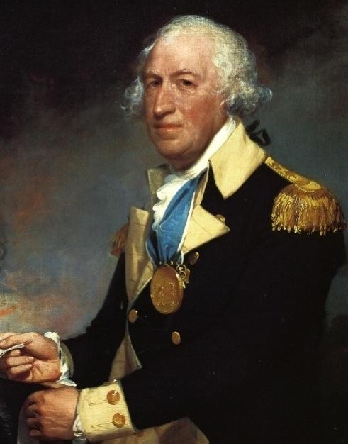ILL. 3 General Horatio Gates, ca. 1794 Gilbert Stuart Portrait. Public Domain.