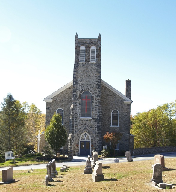 ILL. 7a Blue Church, Coopersburg, PA AlyssumArts, Bethlehem, PA Photo Image © Del-Louise Moyer
