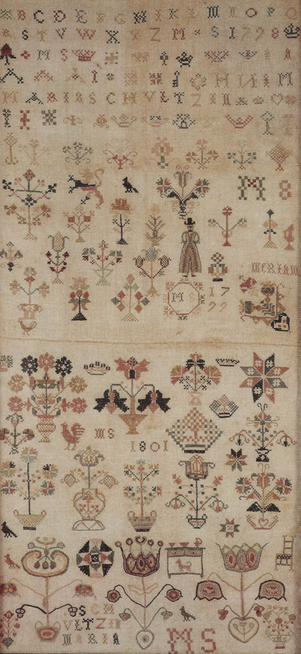 Maria Schultz Double Sampler 1798 | 1799 |1801