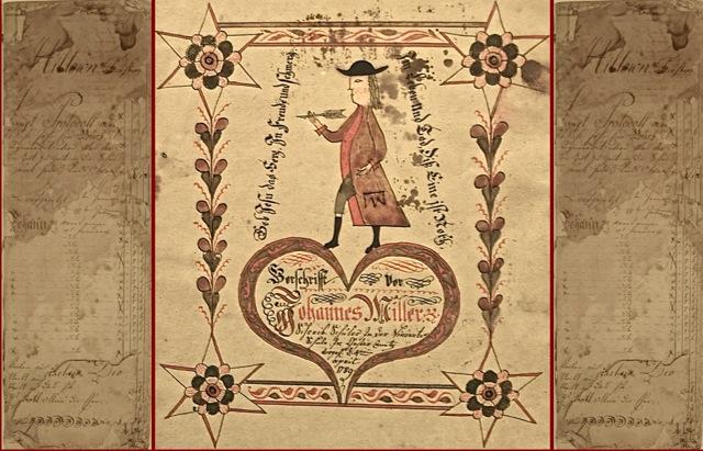 J. A. Eyer Roster 1779-1787 | J. A. Eyer Vorschrift, 1789