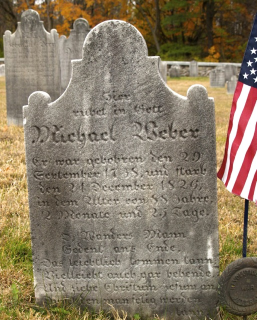 Michael Weber Rests Here in God