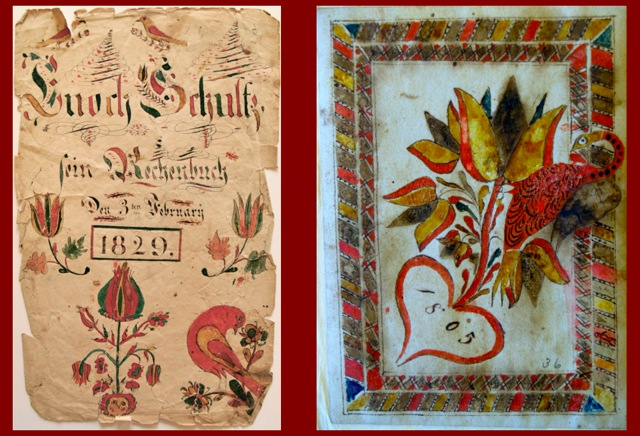 Fraktur Visual Motifs With/Without Fraktur Script
